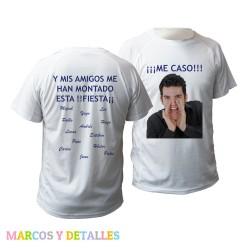 Camiseta Unisex personalizada 2 caras